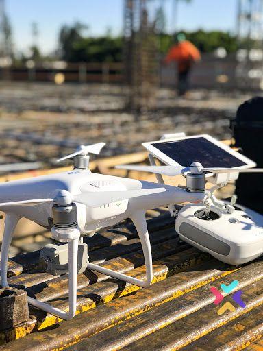 el dron en la arquitectura