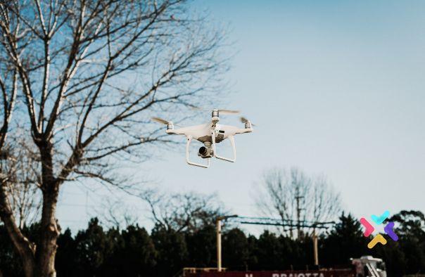 seguimiento de obras con drones