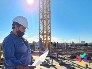 Seguimiento y documentación profesional de obras de construcción