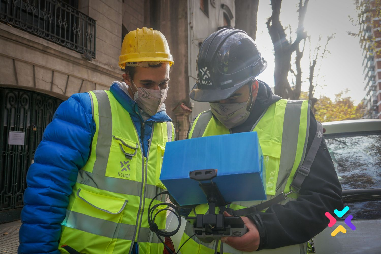 Gestión remota de obras en construcción